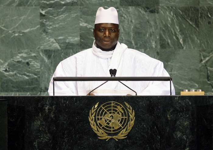predident Gambia