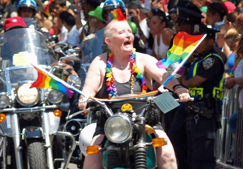 A_Dyke_on_a_Bike_by_David_Shankbone