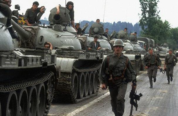 Civil War in Slovenia