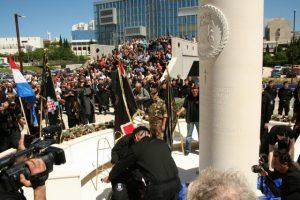 9. bojna HOS-a spomenik