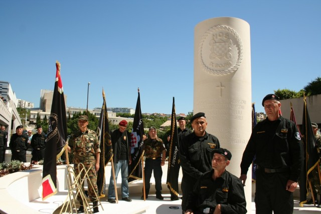 9. bojna HOS-a spomenik hčsp josip miljak za dom spremni