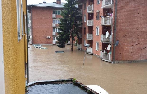 Poplave u BiH: Najkritičnija situacija u Maglaju