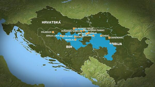 poplave poplava katastrofa srbija bosna hrvatska