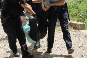 deložacija policija živi zid potkonje knin uhićeni