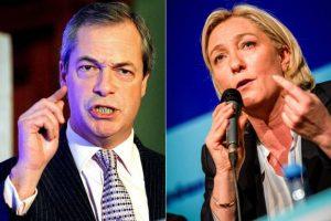 Nigel Farage i Marine Le Pen