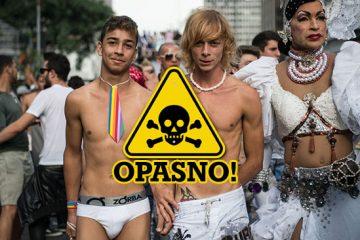 homoseksualnost bolest gay parada zagreb pride