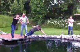 bungee jumping jump skok momačka večer mladoženja