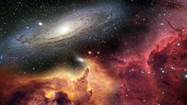 bog božja kreacija stvoren svemir