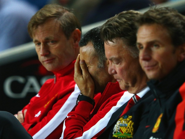 Manchester United Ryan Giggs Louis van Gaal