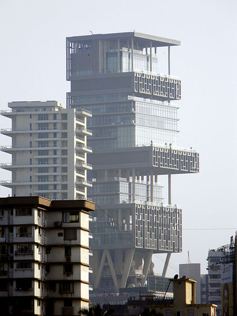 Antilia-Mumbaj-Indija