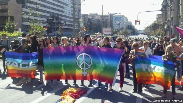 gay parada ponosa beograd 2014