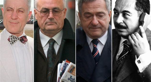 Vinko Sindičić, Josip Perković, Zdravko Mustač, Stjepan Đureković sindičić perković mustač đureković udbaši