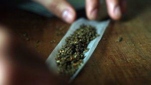 đojint joint marihuana trava puše travu