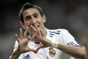di maria real madrid manchester