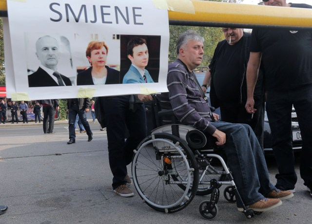 Đuro Glogoški branitelji prosvjed ministarstvo branitelja predrag matić fred glavašević