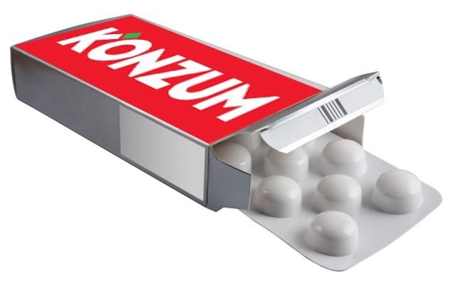konzum tablete lijekovi