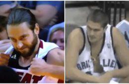 NBA trganje dresa