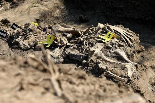 masovna grobnica posmrtni ostaci