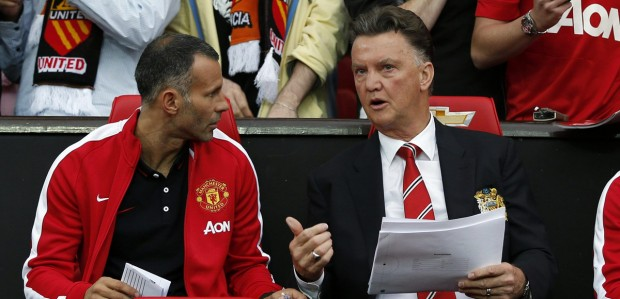 van gaal giggs manchester united real