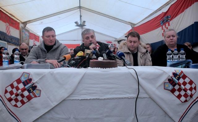 branitelji 100 dana prosvjeda hrvatskih branitelja