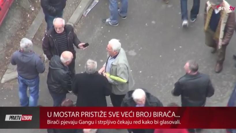 mostar birališta izbori ganga