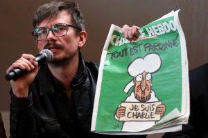 Charlie Hebdo pen
