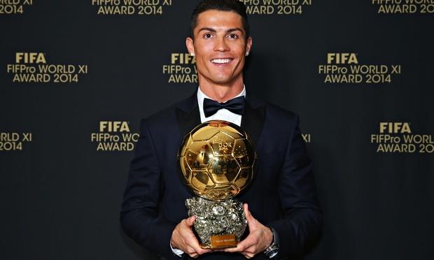 ronaldo zlatna lopta