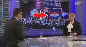 zamagljena hrvatska zastava hrt kolinda