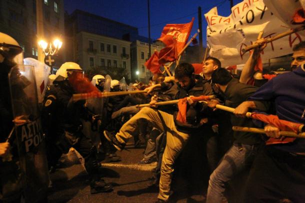 grčka krajnja ljevica syriza atena prosvjed