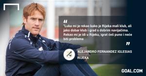 alex Alejandro Fernandez Iglesias trener rijeke rijeka hnl