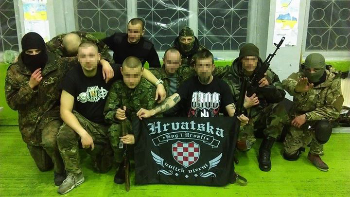 hrvati ukrajina pukovnija azov hrvatski dobrovoljci rat