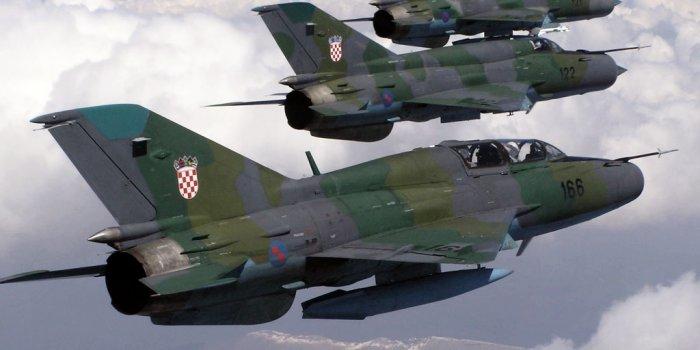 hrvatski zračni prostor turski avion mig