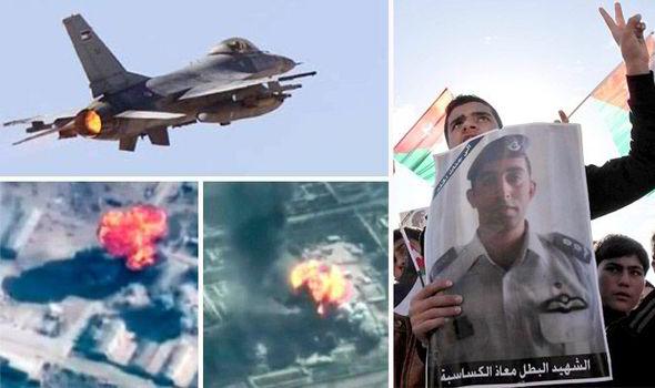 jordan isil islamska država bombardiranje kralj abdulah