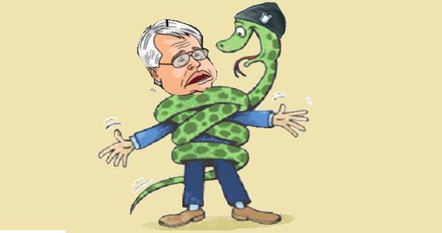 ivo josipović ustaška zmija