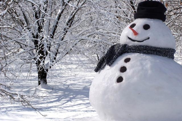 zima snijeg snjegović vrijeme hladno