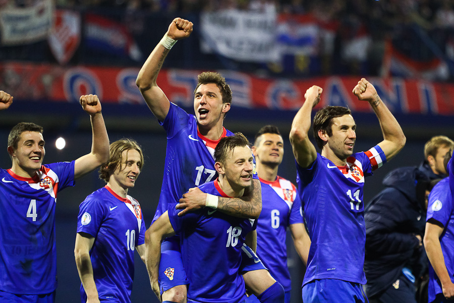 hrvatska nogometna reprezentacija modrić ćorluka po zanimanju