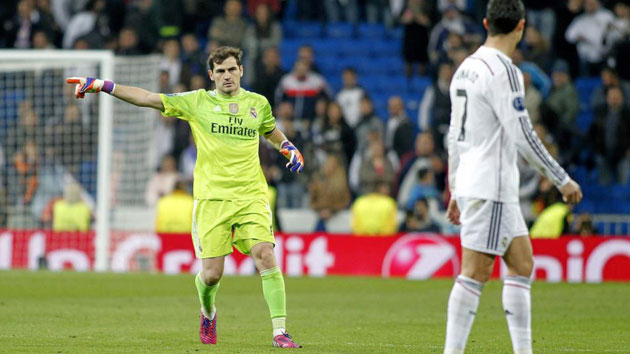 iker casillas real madrid ronaldo