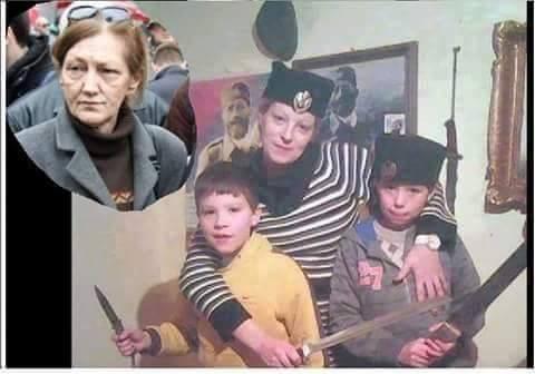 marijana mirt organizatorica prosvjeda stop teroru šatoraša četnička kokarda draža mihajlović