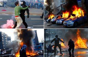 frankfurt njemačka prosvjedi europska središnja banka