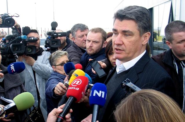 zoran milanović branitelji prosvjed