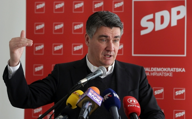 zoran milanović sdp izbori