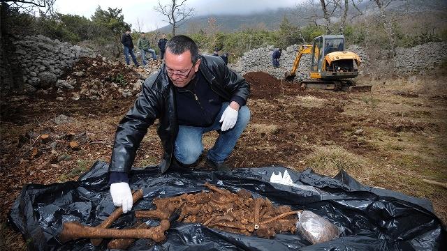 mosor masovna grobnica partizani antifašisti