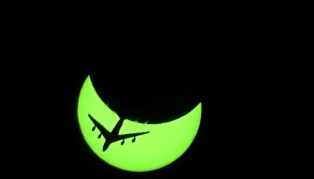 pomrčina sunca avion mosor split