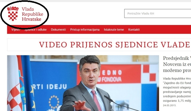 vlada republike hrvatske zoran milanović grb republike hrvatske