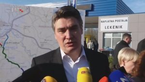 zoran milanović otvorenje autoceste zagreb sisak monetizacija javna ponuda