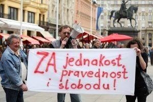 occupy croatia marijana mirt dražen heroić prosvjed protiv branitelja
