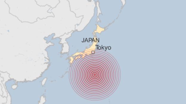 potres japan