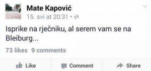mate kapović bleiburg