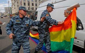 gay rusija ruska policija homoseksualci