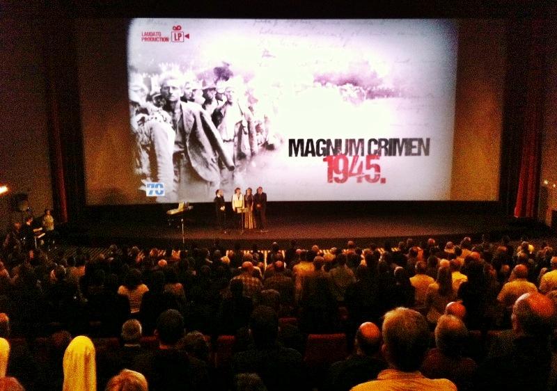 magnum crimen 1945. laudato dokumentarni film bleiburg križni put